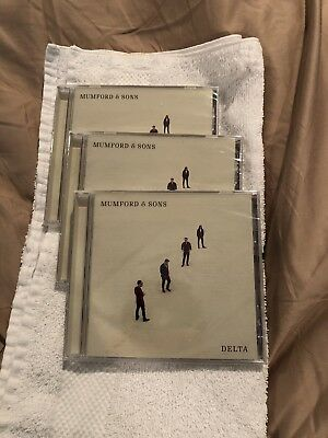 Mumford and Sons Delta CD - NEW SEALED
