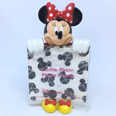 New Disney Minnie Mouse Small Picture frame Disneyland Paris