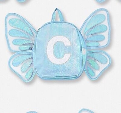 Justice Butterfly Wing Letter C Mini Backpack Last One!🦋