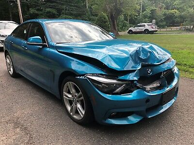 2018 BMW 4-Series 430i BMW 430i XDRIVE 2018 M-SPORT PKG DAMAGED GOOD TITLE! GRAN COUPE SEDAN