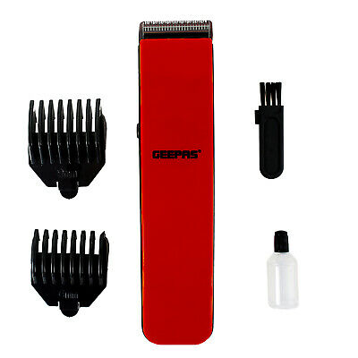 Geepas Men's Rechargeable Beard and Stubble Trimmer with High Precision Blades