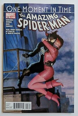 The Amazing Spider-Man #638 Marvel Comic 2010 One Moment in Time QUESADA