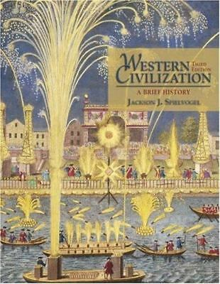 Available Titles CengageNOW: Western Civilization : A Brief History (with CD-ROM