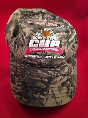 Lowes Store Hat Cup Championship Series Loss Prevention, Safety, HAZMAT Hat