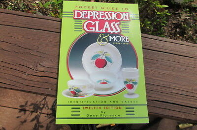 2001 Book Pocket Guide to DEPRESSION GLASS & MORE 1920s-1960s 12 Ed Florence G19