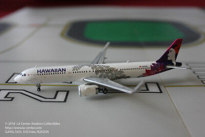 Gemini Jets Hawaiian Airlines Airbus A321neo in New Color Model 1:400