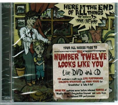 THE NUMBER TWELVE LOOKS LIKE YOU Here At The End Of All Things CD & DVD LIVE
