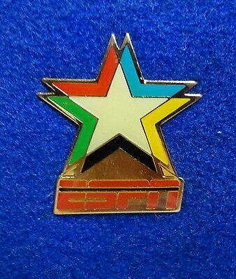 ESPN Tv Television 1993 World University Games Buffalo Media Broadcasting Pin z3