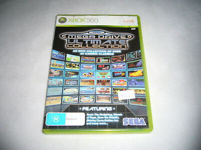 Mint Disc Xbox 360 Sega Mega Drive Ultimate Collection Free Postage