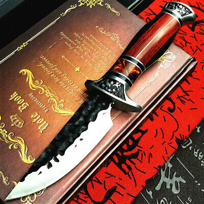 "11"" Tactical Full Tang Military Hunting Covert Combat Survival Knife With Sheath"
