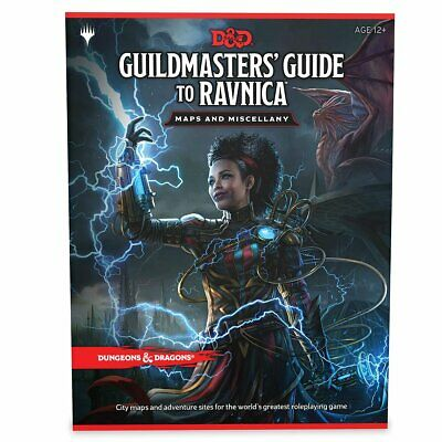 D&D Guildmasters Guide to Ravnica Maps and Miscellany