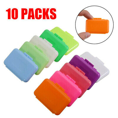 10 Packs Fruit Scent Dental Orthodontics Ortho Wax For Braces Gum Irritation Set