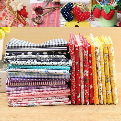 5Pcs Mixed Pattern Cotton Fabric Sewing Quilting Patchwork DIY Craft 50x50cm