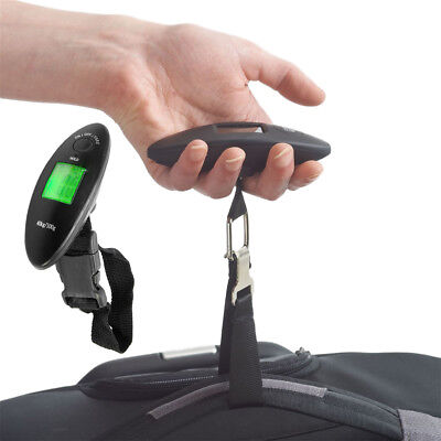 40 kg /90 lb Electronic Digital Portable Luggage Hanging Weight Scale Backlit