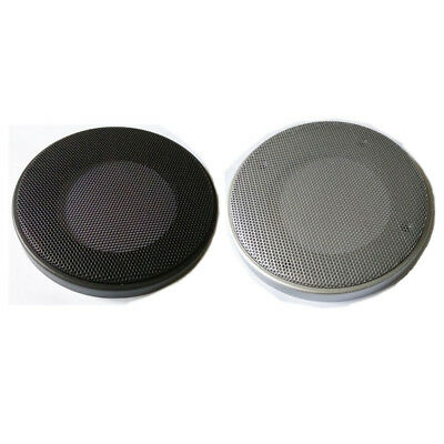 "1x 4/""//5/""//6.5/""//8/"" inch Speaker Cover Decorative Circle Metal Mesh Grille #Silver1"
