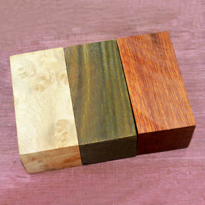1x Handle Timber Wood Turning Blanks Ebony Block Woodworking Lumber Crafts Home