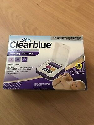 clearblue advanced fertility Touch Screen Monitor