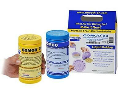 Smooth-On Silicone Mold Making, Rubber Liquid Resin OOMOO 30, Easy To Use - New