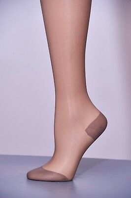 GREAT GIFTS!  Vintage Paquet Seamless Hosiery RHT, Taupe, Retro, Burlesque, NOS