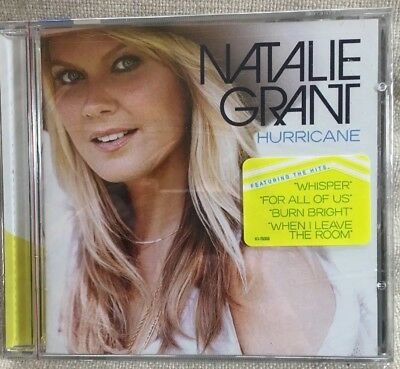 Natalie Grant  Hurricane CD Curb Records New Sealed