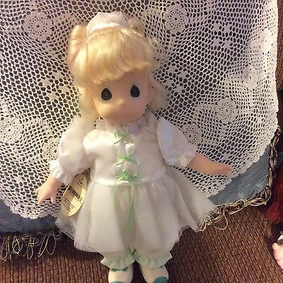 Precious Moments Tonya Doll Not In Box But Perfect Condition!