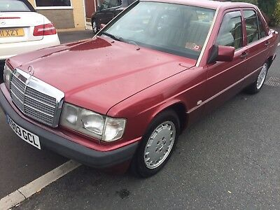 Mercedes Benz 190e 2.0 saloon 12 month MOT  may PX