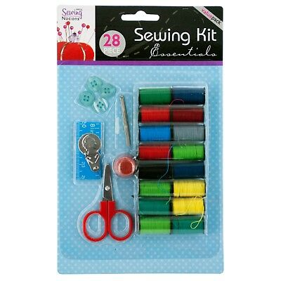 All-In-One Sewing Kit - Travel, Thread, Pins, Needles, Buttons - Free Shipping