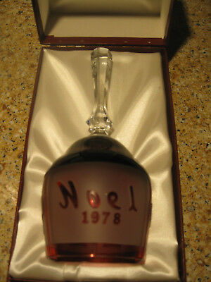 Goebel Limited Edition 1978 Crystal Bell