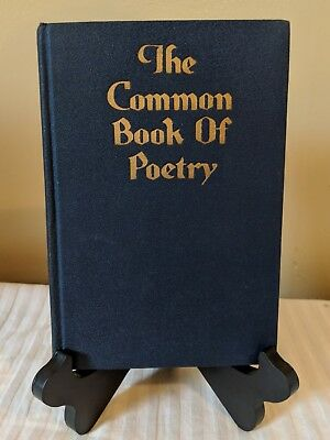 The Common Book of Poetry J. H. Sears & Co. Inc. 1925