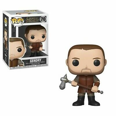 FUNKO POP! TELEVISION: Game of Thrones S9 - Gendry [New Toy] Vinyl Figure