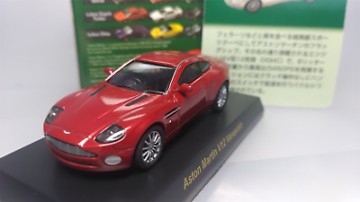 KYOSHO   Scale 1:64    Aston  Martin  V12  Vanquish   Red   Used