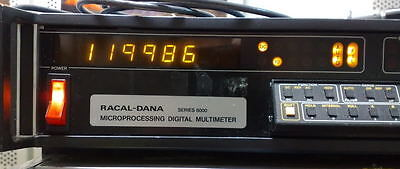 Racal-Dana Series 6000 Digital Microprocessing Digital Multimeter 6002 (Working)