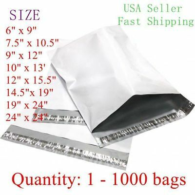 Poly Mailers Shipping Envelopes Self Sealing Plastic Mailing Bags All Sizes