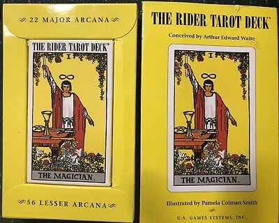 The Rider Tarot Deck US Game System, Arthur Edward Waite, deck+instructions 2005