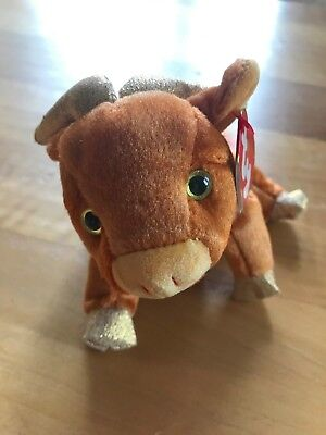 TY BEANIE BABY Pig the Chinese Zodiac Collection the Pig 2000 MWMT ... e8cf88f7c5b9