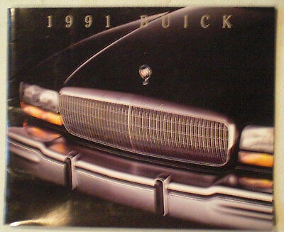 1991 Buick Sales literature