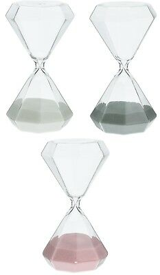 60 Minute Sand Timer Large Hexagon Shaped 1 Hour Glass Sand timer Retro Timer