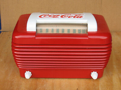 Antique 1946 Stromberg Carlson 1101 Radio Red and White Motif Attention Getter