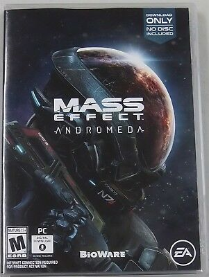 Mass Effect: Andromeda (PC, 2017) - Replacement Case