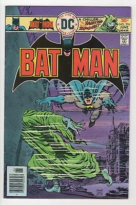 Batman # 276 Comic Book - Haunting of the Spook - Vintage June 1976 DC