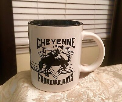 Awesome Cheyenne Frontier Days Collectible Coffee Mug Cup