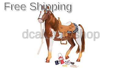 Our Generation 18-Inch Trail Riding Horse