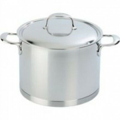 Demeyere Atlantis - 5l Stainless Steel Stockpot with Lid 41395. Shipping is Free