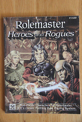 ICE - Rolemaster Heroes and Rogues (1991)