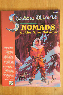 ICE - Rolemaster Shadow World: Nomads of the Nine Nations (1990)
