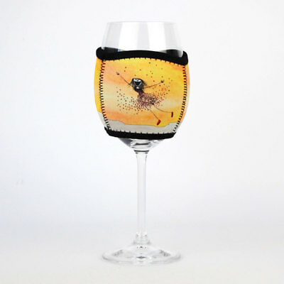 Imagine Ellie Neoprene Wine Glass Cooler Effervescent