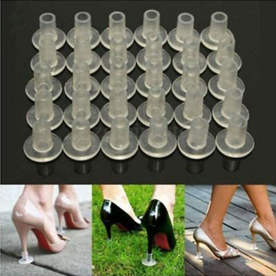 2 Pairs Stiletto High Heel Protector Covers Shoes Stopper Cylinder Shape Wedding