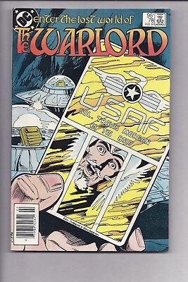 High Grade Canadian Newsstand Edition Variant Warlord #78 $0.95 Price
