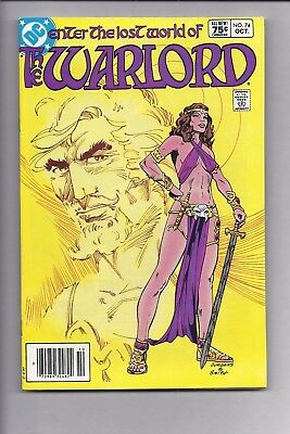 High Grade Canadian Newsstand Edition Warlord #74 $0.75 Price Variant