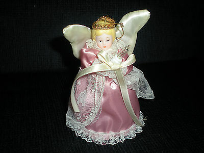 Victorian Angel Ornament/Topper with light